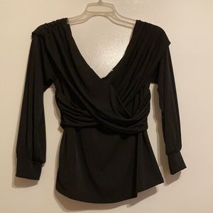 Sexy Off The Shoulders Form Fitting Blouse